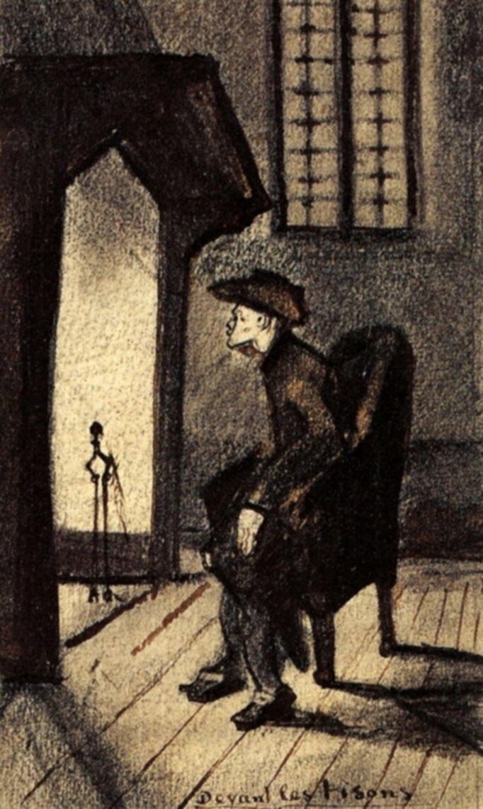 Near the Hearth - Vincent van Gogh