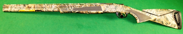 """Browning  Model: Cynergy Max-4 / 013708204    Caliber: 12 Ga    Barrel: 28"""" Max-4 Camo    Chamber: 3.5""""    Weight: 7 lbs 8 ozs    Stock & Forearm: Max-4 Camo Composite    Choke Tubes: 1 ea, F, M, IC    Features:    Vector Pro™ lengthened forcing cones    Three Invector-Plus™ choke tubes    Inflex recoil pad with one 1/4"""" space"""