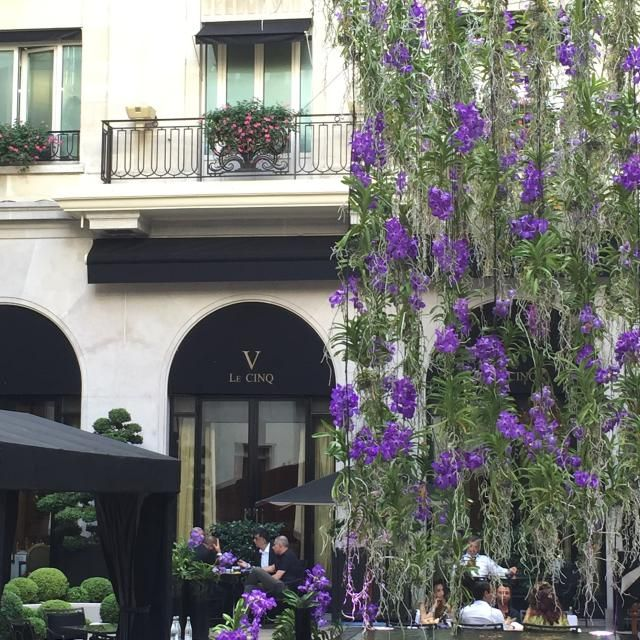 Michelin Star Dining Event: Le Cinq Paris: Le Cinq Restaurant