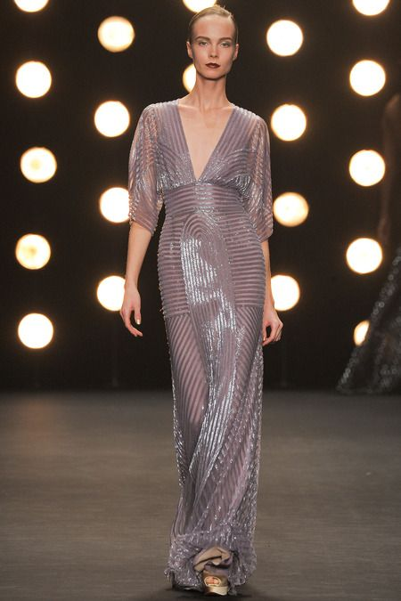 RUNWAY: Naeem Khan Fall 2014 RTW Collection