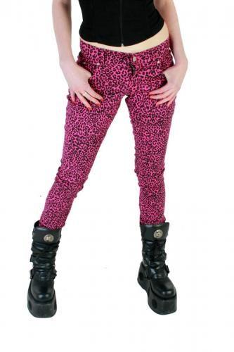 MJEKM01 - UNISEX KAMILI LEOPARD PRINT JEANS | Trousers & Jeans | Phaze Clothing
