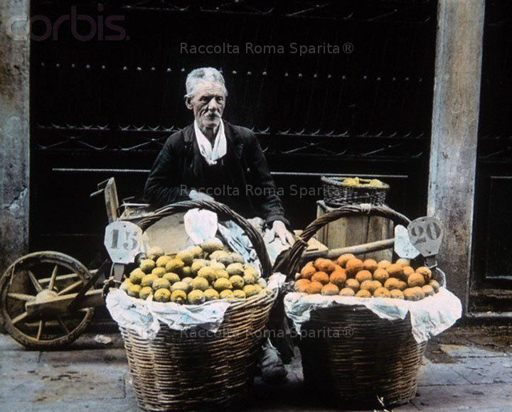Fruit vendor  1900/14