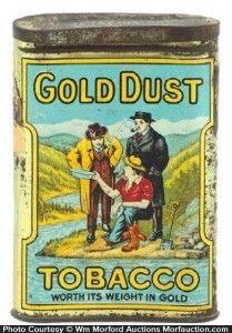 Gold Dust Pocket Tin
