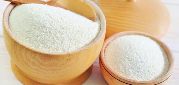 كيف يصنع السميد Sugar Scrub Food Semolina
