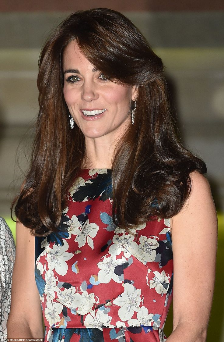 Instead of sweeping her brunette curls into a low bun as she had at Monday night's Spectre...