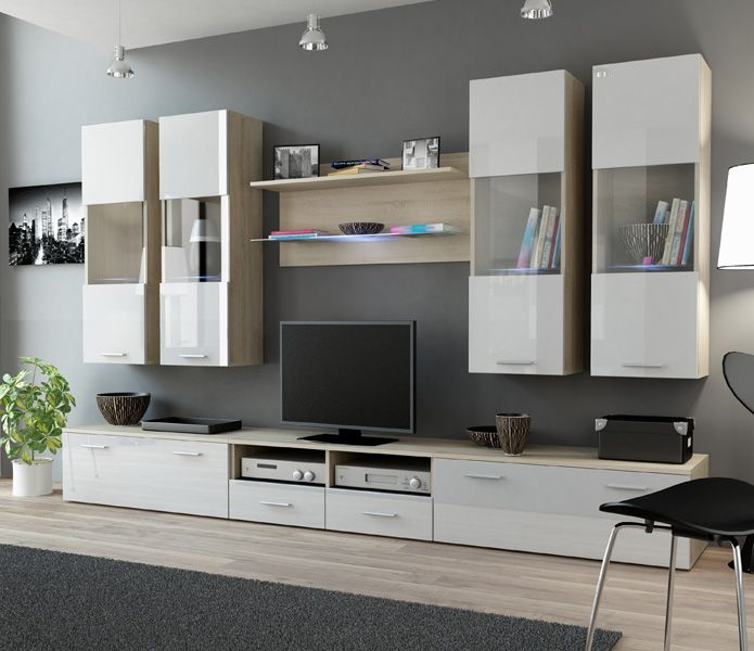 sephora 6 wall units for tvmodern - Meuble De Tv Moderne