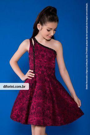 Vestido Infantil Diforini Moda Infanto Juvenil 010818
