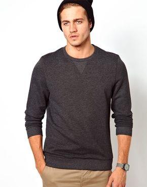 ASOS Sweatshirt With Crew Neck
