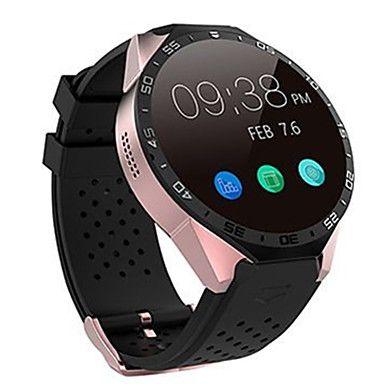 Smartwatch 3G Kingwear W8 1.39'' Amoled 400*400 Smart Watch 3G Calling 2.0MP Camera Pedometer Heart Rate 5226195 2016 – $100.00