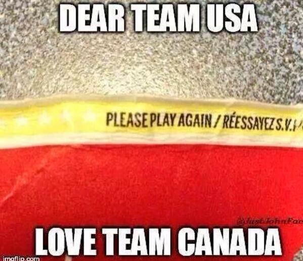 The 15 Most Unapologetic Canadian Responses To The Men's Olympic Hockey Win Against The U.S.