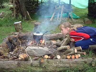 Forest Kitchen Forest School Wales