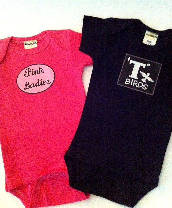 Pink Ladies and T Birds Twin Set