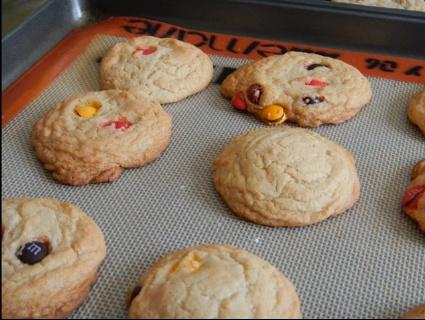 M Fall celebration cookies