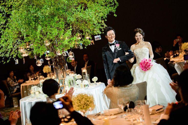 Photography:unison  #パレスホテル東京 #結婚式 #披露宴 #会場装花