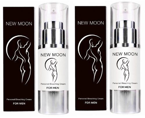 2 X New Moon Natural Personal Skin Bleaching Cream for Men Lightens Lightening ** You can get more details by clicking on the image.