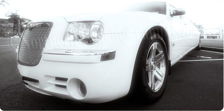Chrysler 300C in black & white!