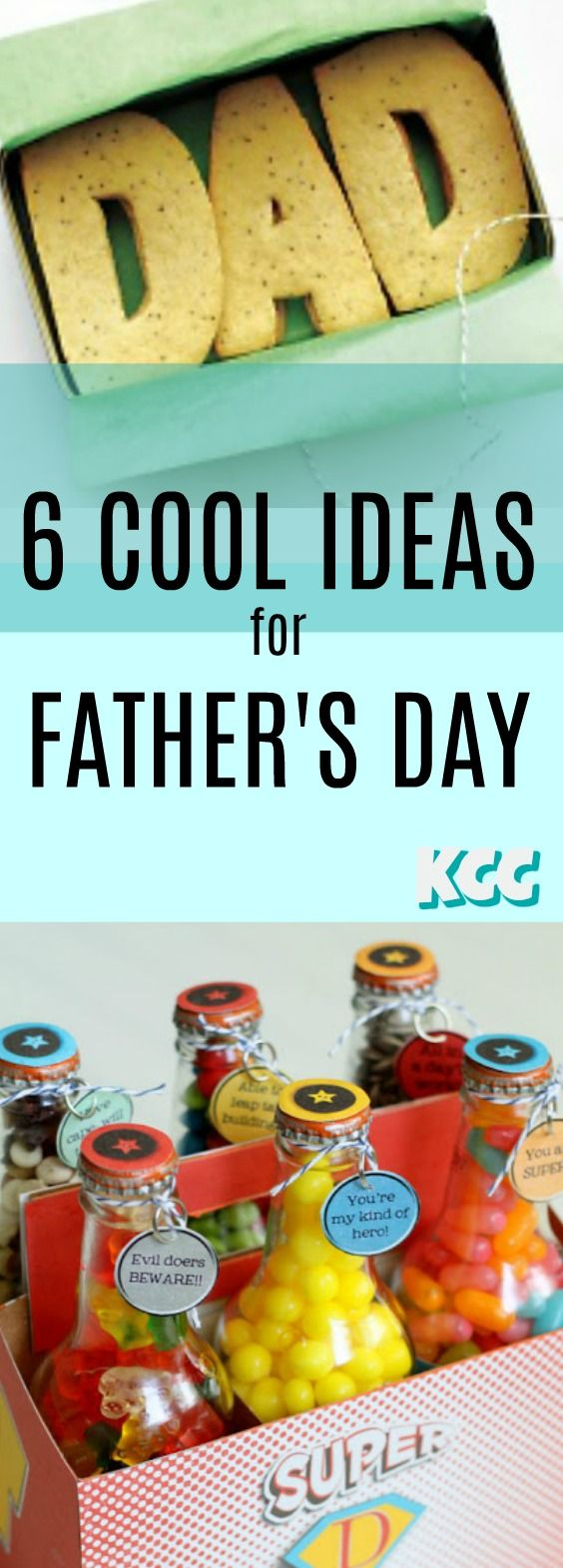 Cool Father's Day Gift Ideas for Dad! #kidscreativechaos