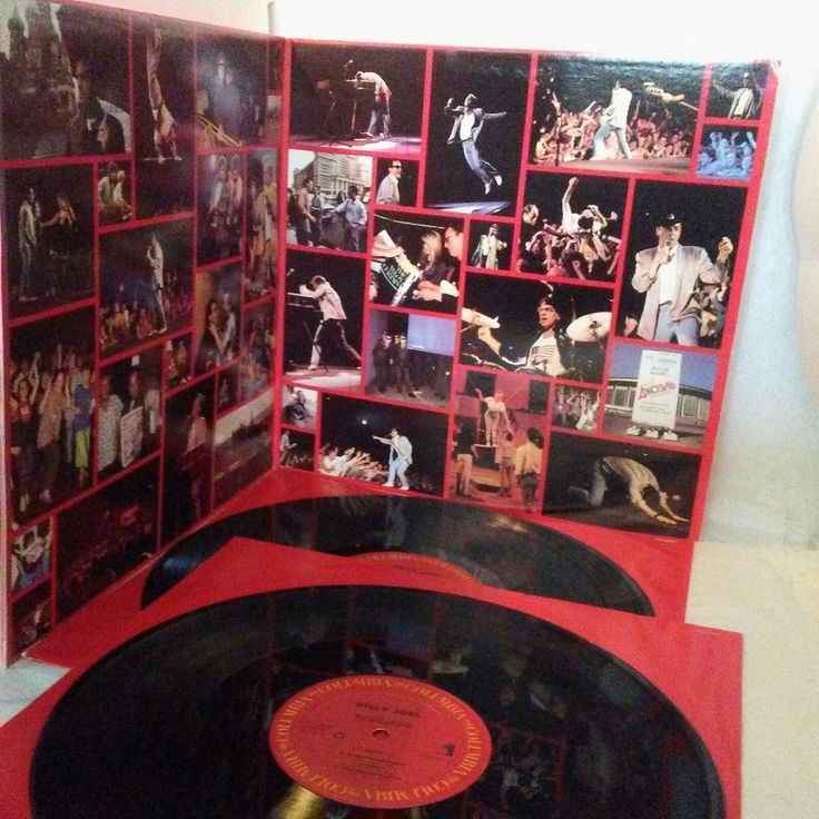 Billy Joel  КОНЦЕРТ Vinyl 2x LP C2X 40996 EX/EX US 1987 Rock Blues Pop Music #BluesRock