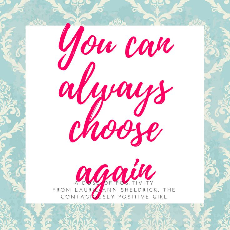 Something I love about life and the the start of a new year is that we can decide to push the reset button at anytime and choose to be, do, think and act in ways that raise us up. We cannot control other people's choices, but we can always control our own.
