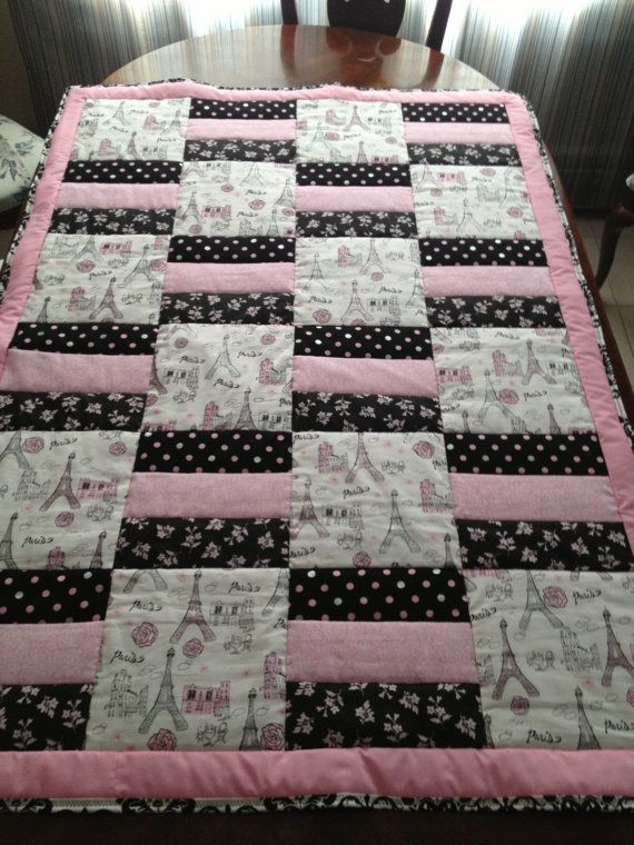 SALE Paris and glitter themed cotton by Ladylo Mom look at the price and how small it is! You could do this!