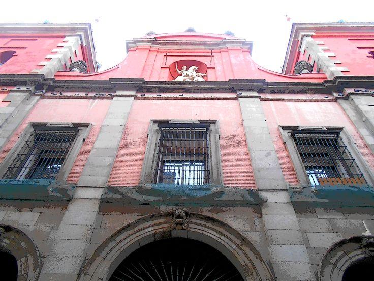 Iglesia de las Comendadoras de Santiago.
