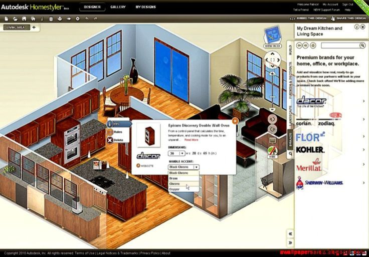 Free Download 3d Home Architect Software Brucall Com Home Design Software Interior Design Software Home Design Programs