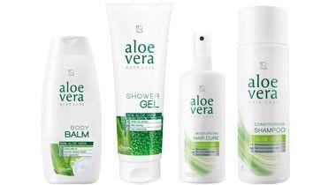 LR Aloe Vera Hair & Body Set: http://bit.ly/1hHtSY1 Dieses Set beinhaltet folgende Artikel:  • Aloe Vera Shampoo 200 ml • Aloe Vera Spülungskur 100 ml • Aloe Vera Body Balm 200 ml • Aloe Vera Shower Gel 250 ml