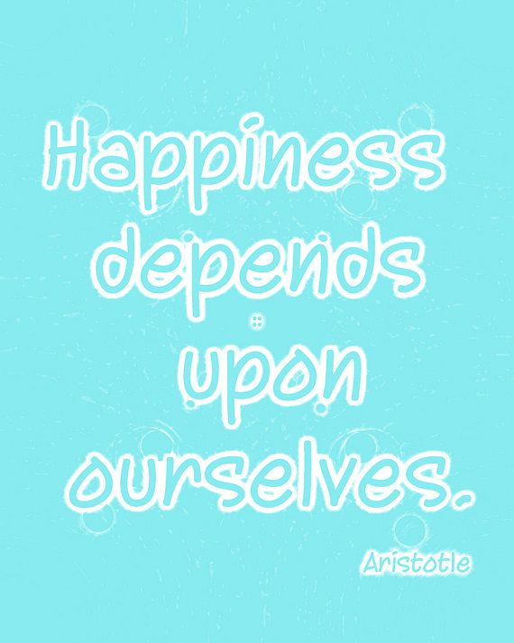 happiness depends on ourselves essay An essay on man: epistle iv of the nature and state of man, with respect to happiness : argument i false notions of happiness, philosophical and popular, answered, from verses 19 to 26 ii it is the end of all men, and attainable by all god intends happiness to be equal and, to be so, it must be social, since all particular happiness depends.