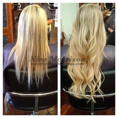 19 best micro loop hair extensions images on pinterest to dye for before and after tape extensions find this pin and more on micro loop hair pmusecretfo Images