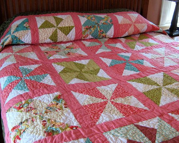 101 best images about Quilts - Pinwheels on Pinterest Quilt, Pinwheel tutorial and Quilting