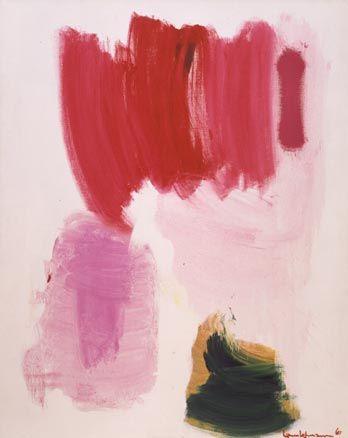 Delirious Pink - Hans Hofmann - 1961.