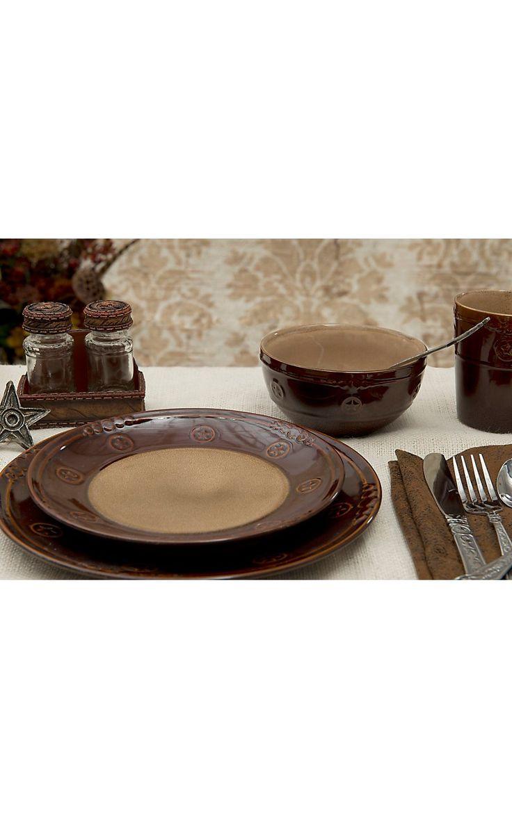 21 best Dinnerware images on Pinterest | Rustic dinnerware sets, Log ...