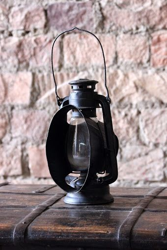 Our Ambar Original Railways 'Bright Light' Iron Lantern Our lantern that will shine light even on the darkest of days and provides your home or garden with a touch of authenticity. Perfect for these dark winter nights!