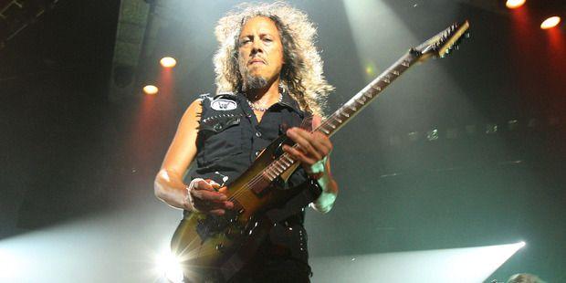 Does New Zealand still have a rock star economy? Metallica lead guitarist Kirk Hammett. File photo / Wayne Drought