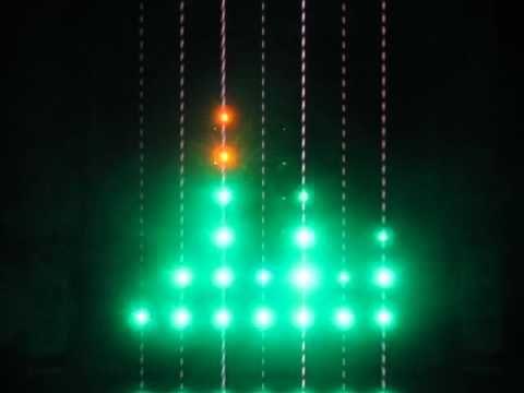 LED Arduino physical Music Visualizer