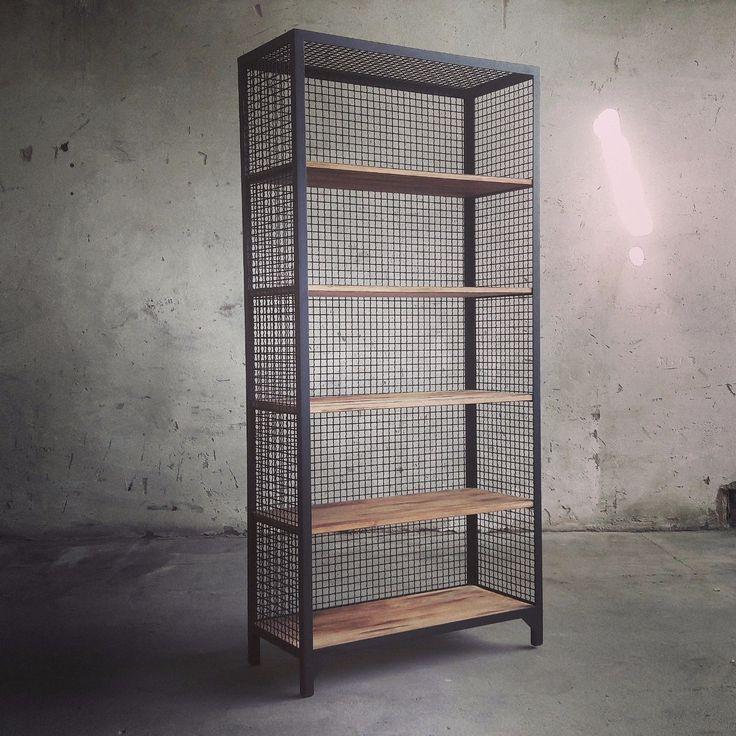 CLATRI Regal Bücherregal Küchenregal im Industri…