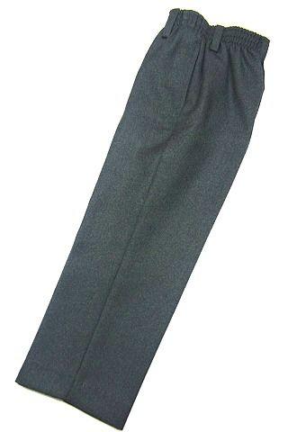Pantalón de pinzas para uniforme escolar con cintura completa de goma - Vuelta al Cole - Ropa Escolar - Mundo Kiriko