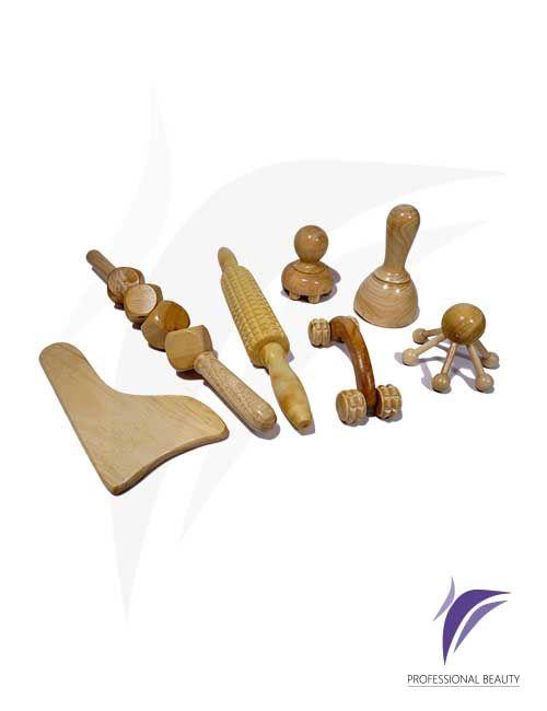 Kit Maderoterapia: Tratamiento de maderoterapia diseñado para eliminar estrés, terapias musculares o procedimientos de adiposidad y moldeo permitiendo una doble función aplicando aceite y realizando el masaje.