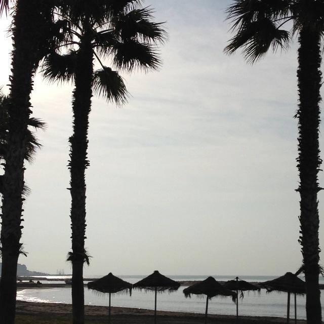 Morning at Pedregalejo beach (Málaga, Spain)