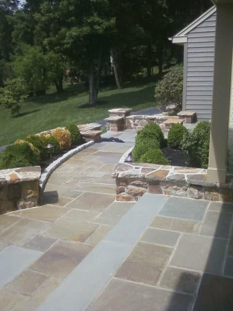 Attractive Time To Re Do The Walkways And. Stone PatiosOutdoor ...