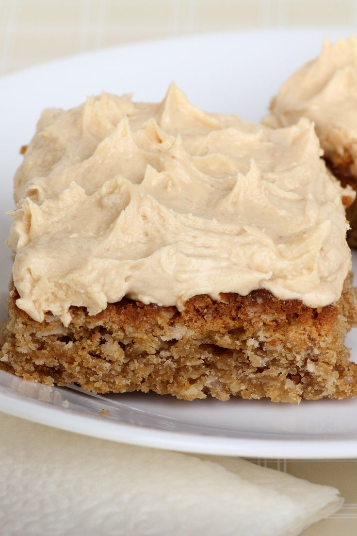 Peanut Butter Sheet Cake with Marshmallow Peanut Butter Frosting Dessert Recipe