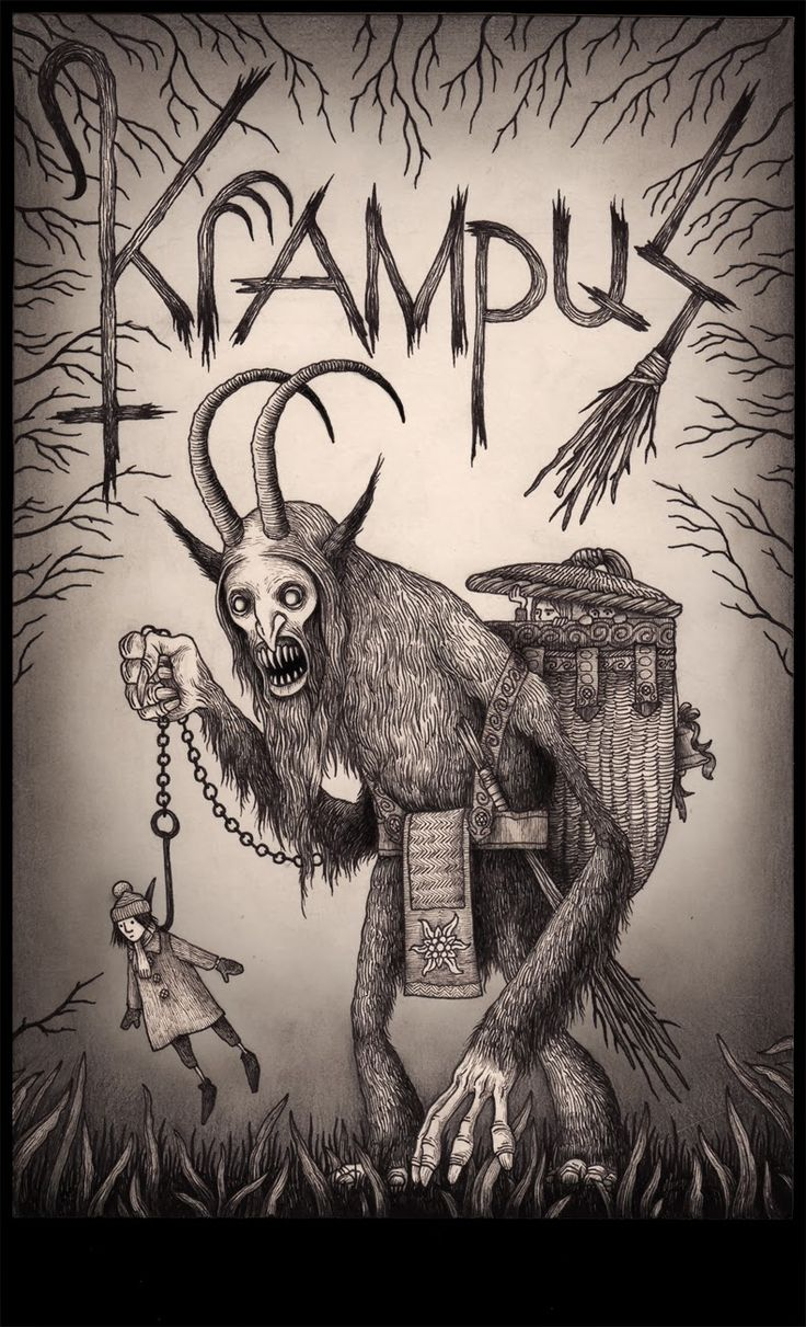 Krampus The Christmas Devil