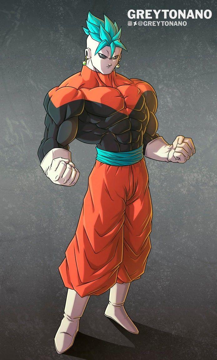 Goku Y Jiren Fusion Potara Personagens De Anime Guerreiro Anime O Pokemon