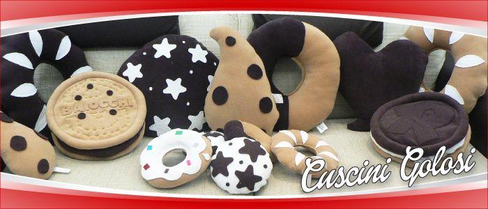 Cuscini Golosi - Cuscini personalizzati