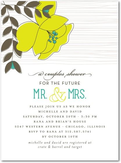 12 best Cute Couples Shower Invitations images – Wedding Couple Shower Invitations