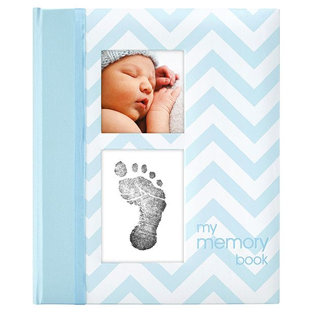 Pearhead Baby Book - Blue