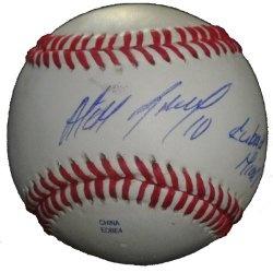 "#Alexei #Ramirez #Autographed #Baseball Featuring ""Cuban Missile"" Inscription with Proof Photo of Signing! #Chicago #White #Sox #Whitesox #Southside #MLB #GoodGuys #Signed #Baseball #FreeShipping Just $54.99  Click Here: http://www.southwestconnection-memorabilia.com/Chicago-White-Sox-Alexei-Ramirez-Autographed/M/B0069WV3EA.htm"