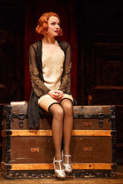 Exclusive! We Have Never-Before-Seen Pictures of Emma Stone's Broadway Debut, Feather Boa and All