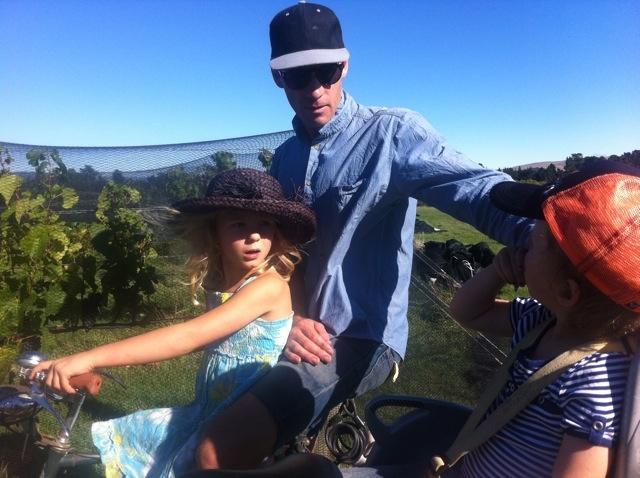 Nicholas Brown, winemaker at Black Estate, Waipara, Face Off beard growing comp NZ wine harvest 2013, #VinAntics