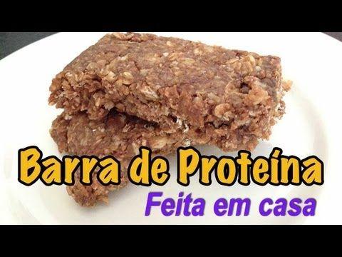 ▶ Receita - Barras de Proteína Caseira - Emagrecer Certo - YouTube